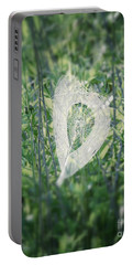 Hearts In Nature - Heart Shaped Web Portable Battery Charger