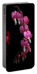 Portable Battery Charger featuring the photograph Hearts In The Dark by Susan Capuano