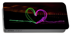 Hearts In The Night Portable Battery Charger