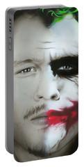 Heath Ledger / Joker Portable Battery Charger