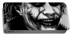 Heath Ledger Joker Portable Battery Charger