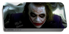 Heath Ledger Joker Why So Serious Portable Battery Charger