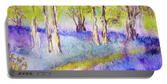 Heather Glade Portable Battery Charger by Jasna Dragun