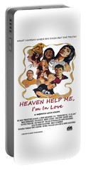 Heaven Help Me, I'm In Love Poster C Portable Battery Charger