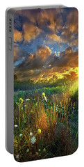 Heaven Knows Portable Battery Charger by Phil Koch