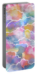 Heavenly Clouds Portable Battery Charger