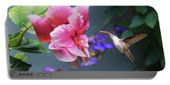 Portable Battery Charger featuring the photograph Heavenly Garden by John Kolenberg