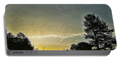 Portable Battery Charger featuring the photograph Heavenly Morning In Helena by Maria Urso