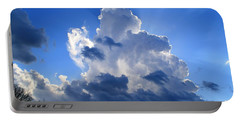 Portable Battery Charger featuring the photograph Heavenly Sunlight by Kathryn Meyer