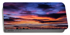 Heavenly Sunrise Portable Battery Charger by Karen Slagle