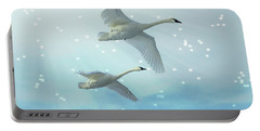 Heavenly Swan Flight Portable Battery Charger