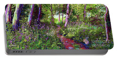 Heavenly Walk Among Birch And Aspen Portable Battery Charger by Jane Small