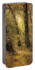 Heaven's Glimmer Portable Battery Charger by John Rivera