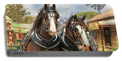 Heavy Horses Portable Battery Charger