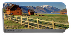 Heber Valley Ranch House - Wasatch Mountains Portable Battery Charger