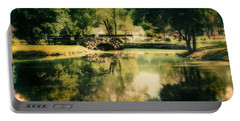 Heckscher Park Pond, Huntington Ny Portable Battery Charger