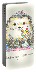 Hedgehog Heaven Portable Battery Charger