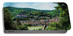 Portable Battery Charger featuring the photograph Heidelberg Germany by David Morefield