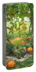 Heidi's Pumpkins Portable Battery Charger