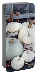 Heirloom Pumpkins And Antlers Portable Battery Charger