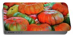 Heirloom Pumpkins Portable Battery Charger