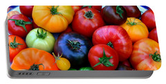 Heirloom Tomatoes Portable Battery Charger