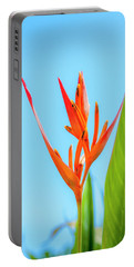 Heliconia Flower Portable Battery Charger