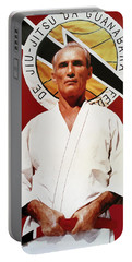 Helio Gracie - Famed Brazilian Jiu-jitsu Grandmaster Portable Battery Charger
