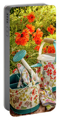 Portable Battery Charger featuring the photograph Hello Summer by Teri Virbickis