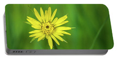 Portable Battery Charger featuring the photograph Hello Wild Yellow by Bill Pevlor