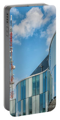Portable Battery Charger featuring the photograph Helsingborg Arena Concert Hall by Antony McAulay
