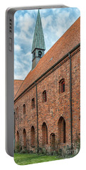 Portable Battery Charger featuring the photograph Helsingor Saint Mary Church by Antony McAulay