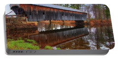 Hemlock Covered Bridge Fryeburg Maine Portable Battery Charger