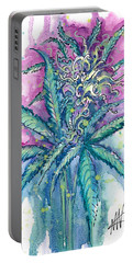 Hemp Blossom Portable Battery Charger