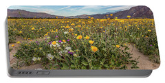 Henderson Canyon Super Bloom Portable Battery Charger by Peter Tellone