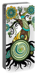 Henna Tree Of Life Portable Battery Charger
