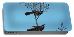 Portable Battery Charger featuring the photograph Henry And Henrietta by Mark Blauhoefer