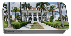 Portable Battery Charger featuring the photograph Henry Morrison Flagler Mansion by John Black