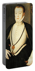 Henry Stewart Lord Darnley Married Mary Queen Of Scots 1565 Portable Battery Charger