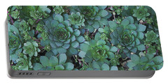 Hens And Chicks - Digital Art  Portable Battery Charger