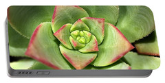 Hens And Chicks Succulent And Design Portable Battery Charger
