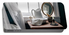 Her Nightstand - Antique Bedroom Portable Battery Charger