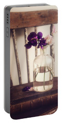Portable Battery Charger featuring the photograph Her Treasures by Amy Weiss