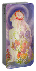 Herbal Goddess  Portable Battery Charger