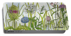 Herbs And Flowers Portable Battery Charger