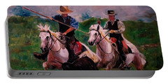 Herdsmen Portable Battery Charger by Khalid Saeed