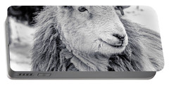 Herdwick Sheep Portable Battery Charger by Keith Elliott