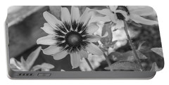 Portable Battery Charger featuring the photograph Here I Am In Black And White by Arlene Carmel