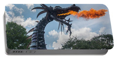 Here There Be Dragons Portable Battery Charger