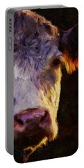 Hereford Cow Portable Battery Charger